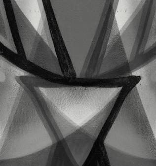 Abstrakte wand beschädigte grenze grafik