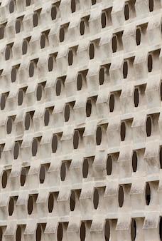 Abstrakte wand mit 3d-formen
