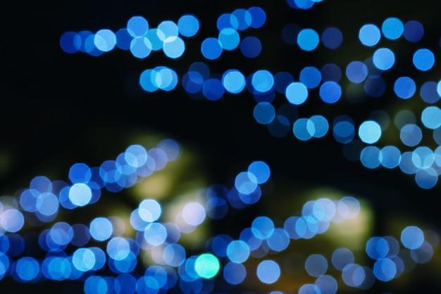 Abstrakte weihnachtsbeleuchtung