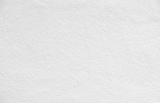 Abstrakte weiße farbe der leeren und leeren konkreten gipswand für beschaffenheitshintergrund