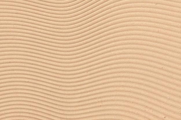 Abstrakte wellen sand textur oder hintergrund extreme nahaufnahme. 3d-rendering.