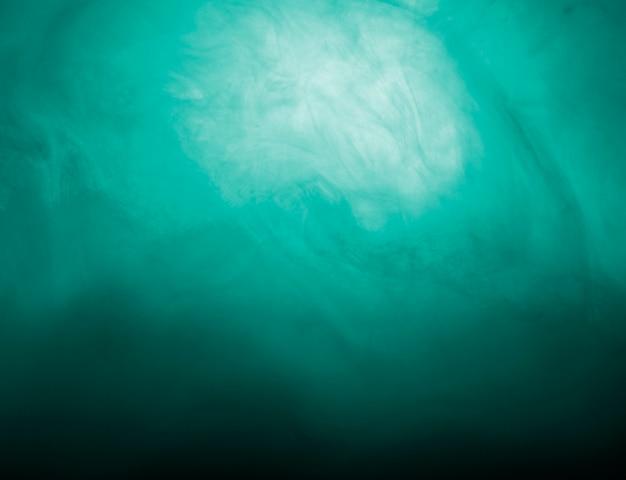 Abstrakte wolke des azurblauen dunstes