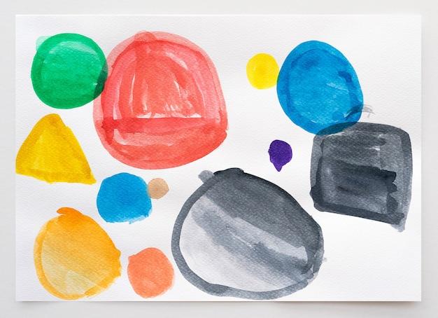 Abstrakter aquarell handgemalter hintergrund.