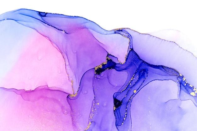 Abstrakter aquarell rosa und violetter steigungshintergrund.