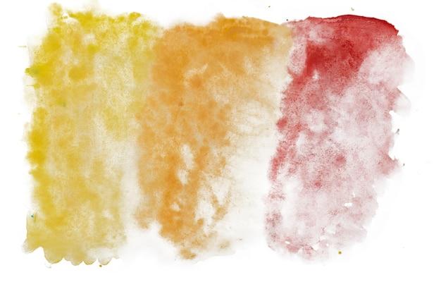 Abstrakter aquarellfleck isoliert auf weißem hintergrund