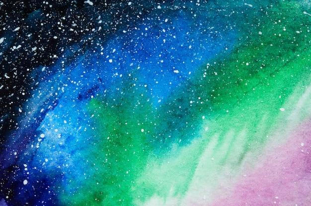 Abstrakter aquarellhandfarben-beschaffenheitshintergrund