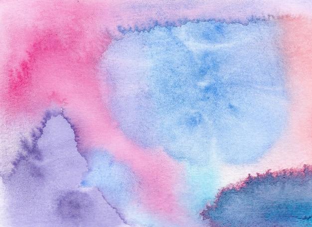 Abstrakter aquarellhintergrund. handgemalte abbildung