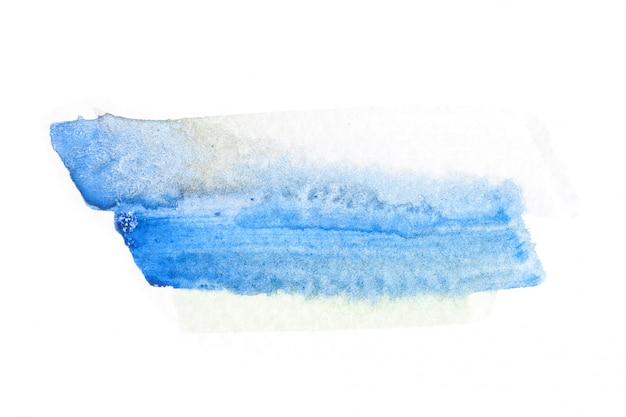 Abstrakter aquarellpinsel-anschlaghintergrund.
