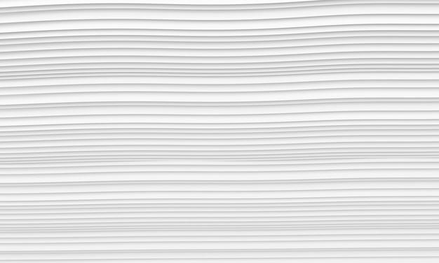 Abstrakter architektur-hintergrund. illustration 3d des weißen kreisgebäudes.