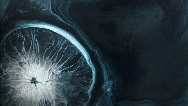Abstrakter blauer aquarell gemusterter hintergrund Premium Fotos