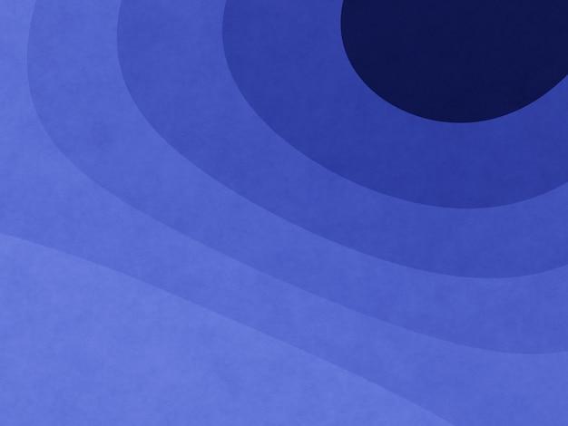 Abstrakter blauer grafischer konturhintergrund