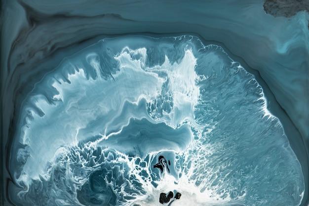 Abstrakter blauer grunge-aquarell-gemusterter hintergrund