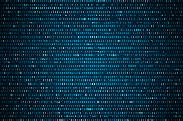 Abstrakter blauer technologie-hintergrund