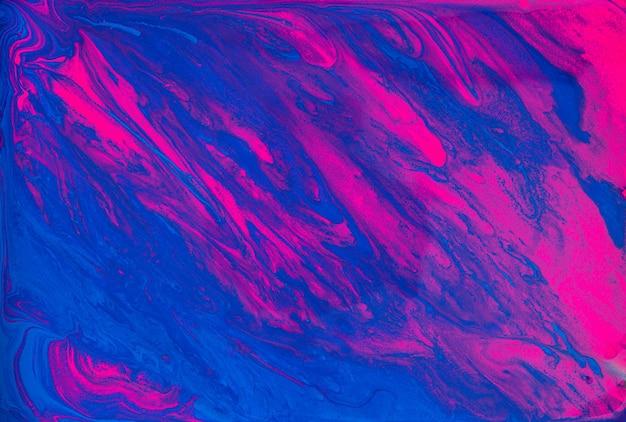 Abstrakter blauer violetter wasserfarbenbeschaffenheitshintergrund des flusses