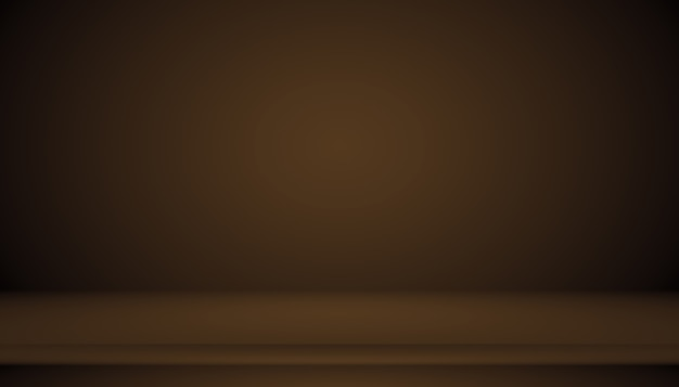 Abstrakter brauner farbverlauf, der gut als hintergrund für die produktpräsentation verwendet wird