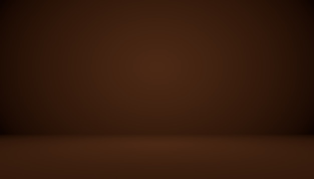 Abstrakter brauner farbverlauf, der gut als hintergrund für die produktpräsentation verwendet wird.