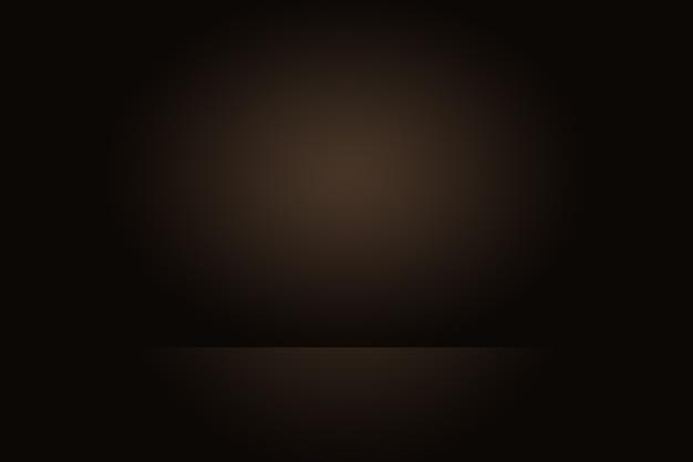 Abstrakter brauner gradientenhintergrund für produktanzeige. Premium Fotos