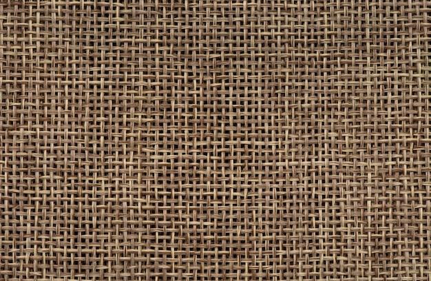 Abstrakter brauner sackleinenbeschaffenheitshintergrund