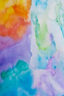 Abstrakter bunter aquarellhintergrund