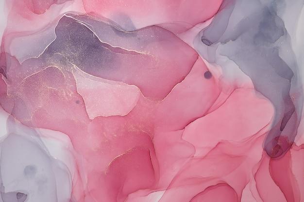 Abstrakter bunter hintergrund, tapete. mischen von acrylfarben. moderne kunst. marmor textur malen. alkoholtintenfarben durchscheinend