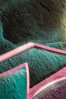 Abstrakter bunter strukturierter wandhintergrund
