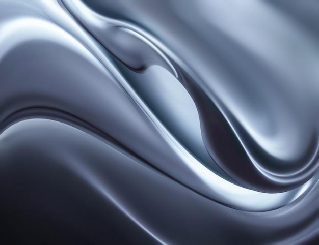 Abstrakter chromhintergrund im vollbildmodus