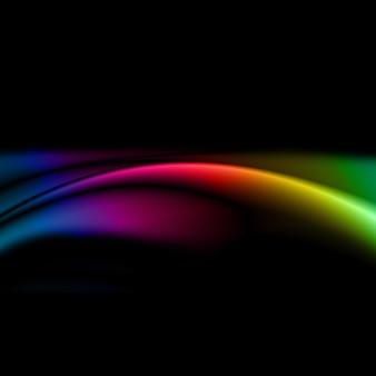 Abstrakter designhintergrund mit regenbogenfarben