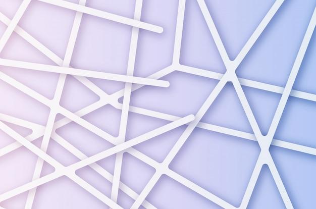 Abstrakter einfacher linienverbindungshintergrund