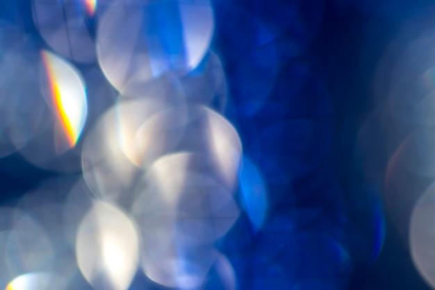 Abstrakter farbhintergrund. verschwommenes licht bokeh.