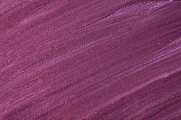 Abstrakter flüssiger kunsthintergrund dunkelviolette farben. flüssiger marmor. acrylmalerei mit weinverlauf.
