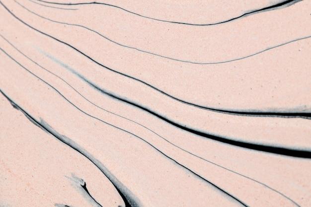 Abstrakter flüssiger marmor beige hintergrund handgemachte experimentelle kunst