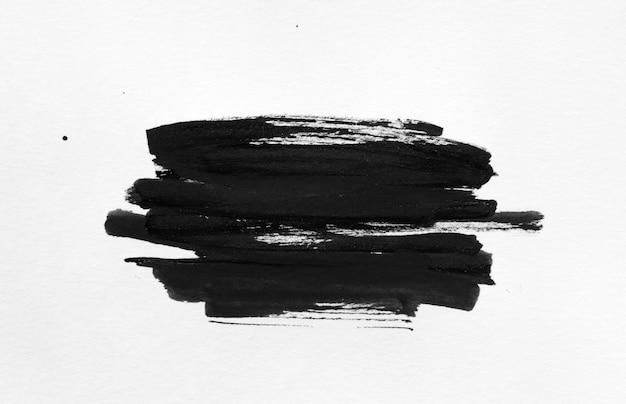 Abstrakter formhintergrund der schwarzen tinte.