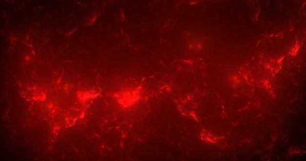 Abstrakter fraktaler hintergrund mit flammen