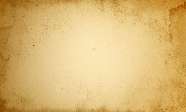 Abstrakter gealterter hintergrund, leeres braunes schmutzmanuskript, alte beschaffenheit des rauen jahrgangs des alten papiers