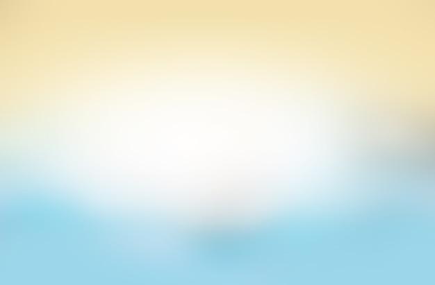 Abstrakter gelbblauer mehrfarbiger hintergrund. sommer.
