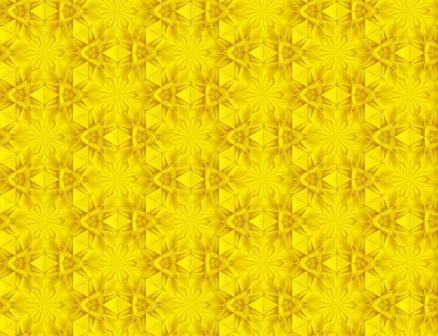 Abstrakter geometrischer farbiger hintergrund basiert auf sechseckigem gitter
