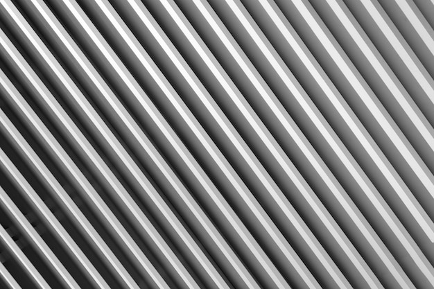 Abstrakter gestreifter grauer hintergrund aus jalousien