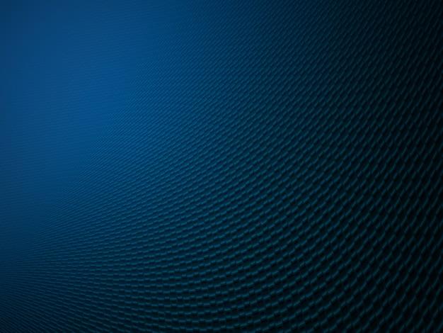 Abstrakter gewundener blauer hintergrund