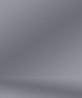 Abstrakter glatter leerer grauer studiobrunnengebrauch als hintergrundgeschäftsberichtdigitalwebsite-vorlagehintergrund