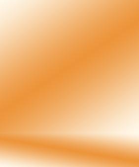 Abstrakter glatter orange hintergrundplan designstudioroom web template geschäftsbericht mit glatter c...