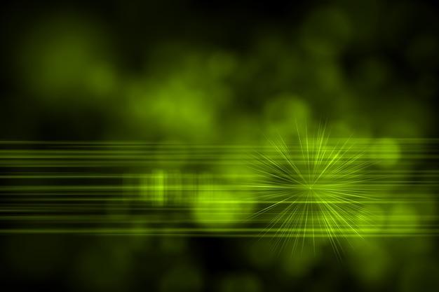 Abstrakter glühender digitaler linsenfackelhintergrund