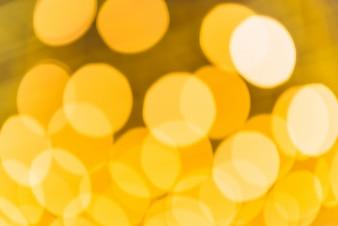 Abstrakter Gold Bokeh Hintergrund