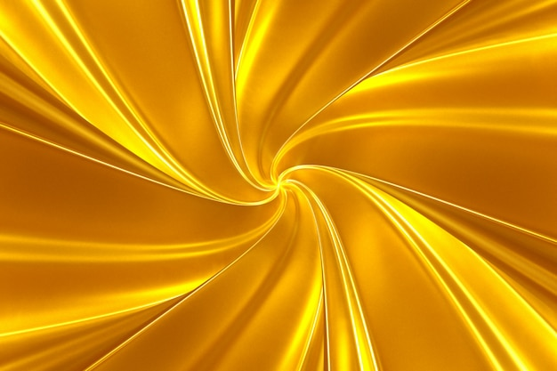 Abstrakter goldener hintergrund von blätterneinfassung der leuchtenden streifen