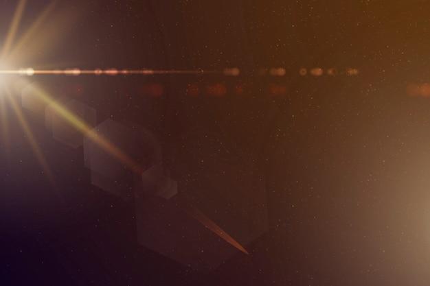 Abstrakter goldener sonnendurchbrucheffekthintergrund