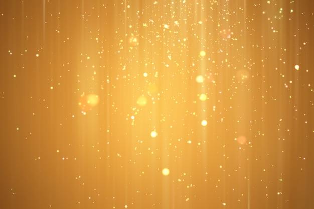 Abstrakter goldener weihnachtsfestlicher hintergrund.