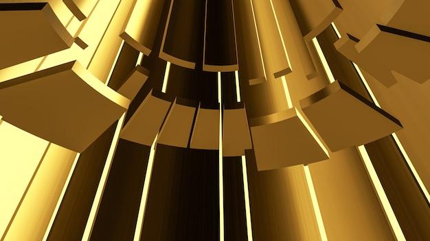 Abstrakter goldszenenhintergrund