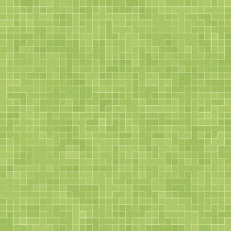 Abstrakter hellgrüner quadratischer pixelfliesenmosaikwandhintergrund und -beschaffenheit.