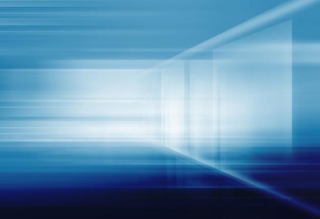 Abstrakter high-tech 3d raumhintergrund
