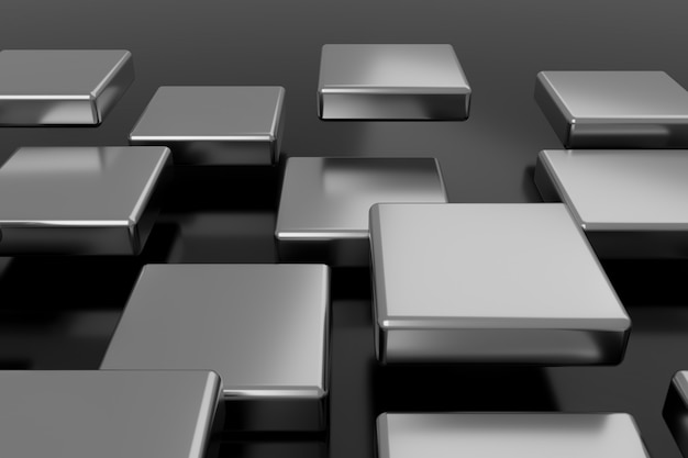 Abstrakter hintergrund. 3d-rendering.