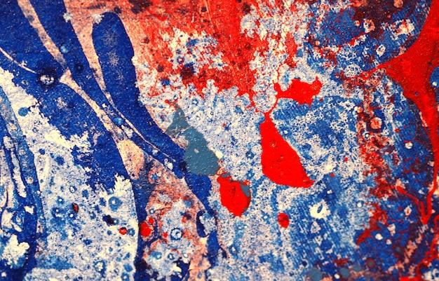 Abstrakter hintergrund der blauen aquarellmalerei mit beschaffenheit.